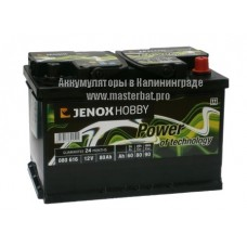 JENOX HOBBY 80 Ah (тяговые)