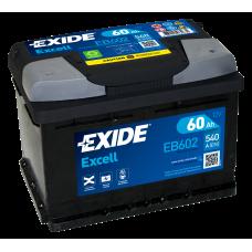 EXIDE EB602 60Ah