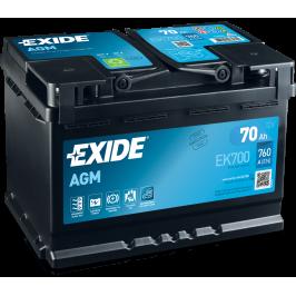 Exide  AGM EK700 70Ah