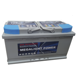 Megalight AGM 100Ah